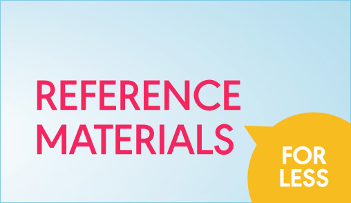 Save 20% Reference Materials