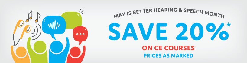 Save 20% on CE Courses During the Month of May