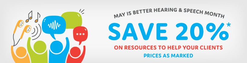 Save 20% in May on Consumer Education Materials
