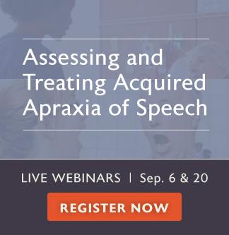 New Apraxia Webinars