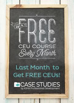 Last Month for Free CEUs!