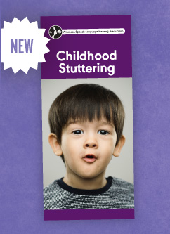 New Stuttering Brochure