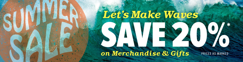 Save 20% in August on Clothing, Gifts, and More!