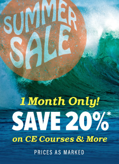 Save 20% off all month long