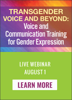 Transgender Voice and Beyond Live Webinar