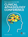 Select Papers From the 46th Clinical Aphasiology Conference (Reference)