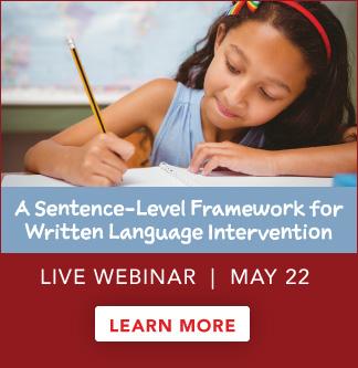Sentence-Level Framework Live Webinar