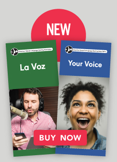 Check out our newest brochure on voice