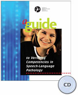 Guide to Verifying Competencies in Speech-Language Pathology