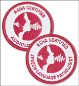 ASHA Certified Audiologist Patch