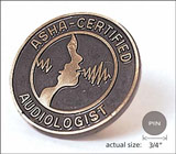 Audiologist Lapel Pin