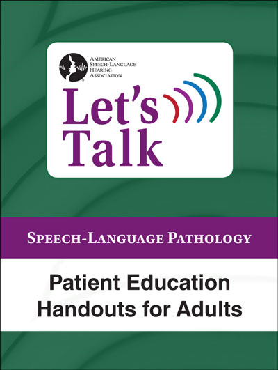 photo about Printable Patient Education Handouts referred to as Enables Chat Affected individual Schooling Handouts for Older people