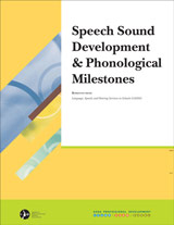 Speech Sound Development and Phonological Milestones