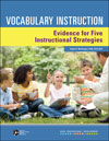 Vocabulary Instruction: Evidence for Five Instructional Strategies