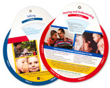 How Does Your Child Hear and Talk Wheel (English)