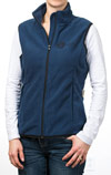 Fleece Vest, Navy