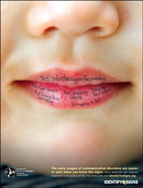 Identify the Signs Poster for Speech Language Pathologists