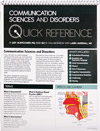 Communication Sciences and Disorders Quick Reference