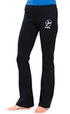 Women's Fold Over ASHA Yoga Pant