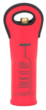 Talk it Up Neoprene Wine Bottle Tote