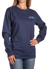 ASHA Navy Long Sleeve Shirt