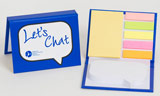 Let's Chat Sticky Pad