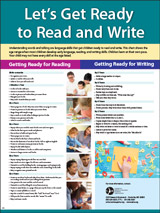 Let's Get Ready to Read and Write Poster