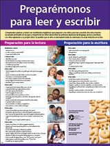 Let's Get Ready to Read and Write Poster (Spanish)