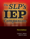 The SLP's IEP Companion, 3rd Edition