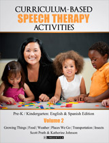 Curriculum-Based Speech Therapy Activities, Volume 2