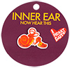 I Heart Guts Inner Ear Lapel Pin