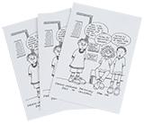 Eyes of Children Greeting Card, Set of 3