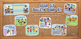 ASHA SLP Bulletin Board Kit