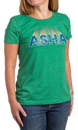 ASHA Green T-Shirt