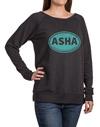 ASHA Vintage Black Sweatshirt