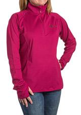 Sport-Wick Half Zip ASHA Pullover (Magenta)