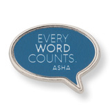 Speech Bubble Lapel Pin