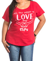 Love SLPs Red T-shirt