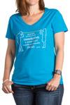 ASHA Vision Teal T-shirt