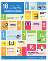Talking Tips in a Tech World Poster