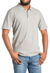 Men's Gray ASHA Polo Shirt