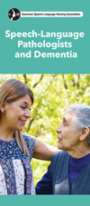 Speech-Language Pathologists and Dementia