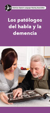 Speech-Language Pathologists and Dementia – Spanish