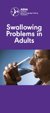 Swallowing Problems in Adults