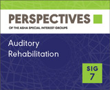 SIG 7 Perspectives Vol. 20, No. 1, January 2013