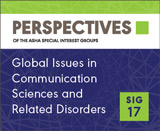 SIG 17 Perspectives Vol. 2, No. 2, September 2012