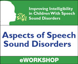 Aspects of Speech Sound Disorders