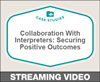 Collaboration With Interpreters: Securing Positive Outcomes