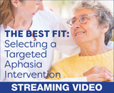 The Best Fit: Selecting a Targeted Aphasia Intervention