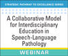 A Collaborative Model for Interdisciplinary Education in Speech-Language Pathology: The Time Is Now